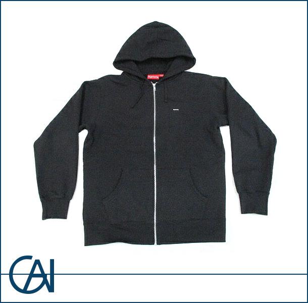 Supreme【シュプリーム】 Small Box Zip Up Sweatshirt ジップアップ パーカー ブラック Black【新品】