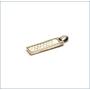 シルバー SLV925 ペンダントトップ ホワイトプレート 【USED】