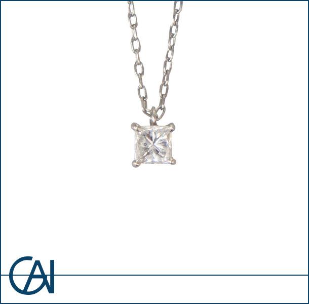 プラチナ ダイヤモンドネックレス 0.391ct
