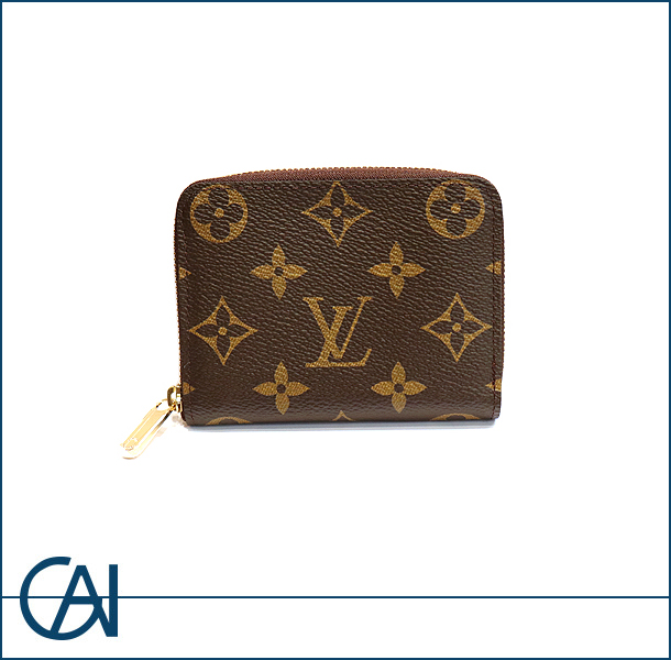 LOUIS VUITTON【ルイヴィトン】 モノグラム ジッピー コインパス 【新品】