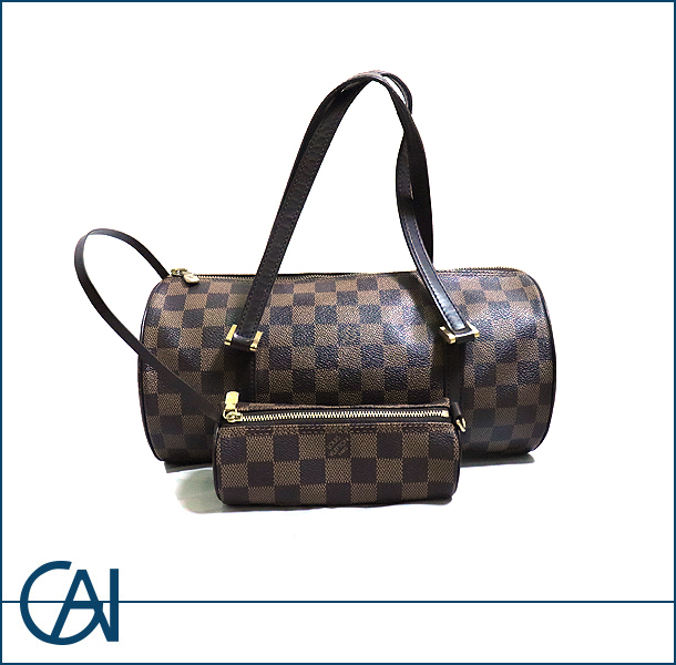 LOUIS VUITTON【ルイヴィトン】 ダミエ パピヨン30 ハンドバッグ 【USED】